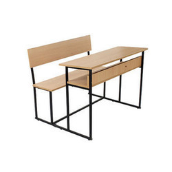 Three Seater Student Desk