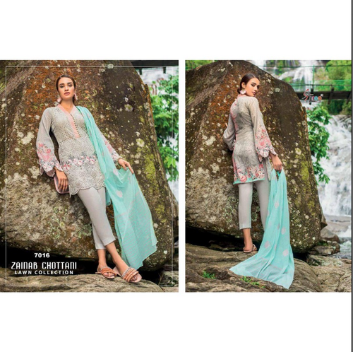 adbff5b9aa Womens Cloth - Shree Fabs Zainab Chottani Lawn Collection ...