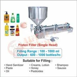 Ointment Filling Machine / Hand Sanitizer Filling Machine