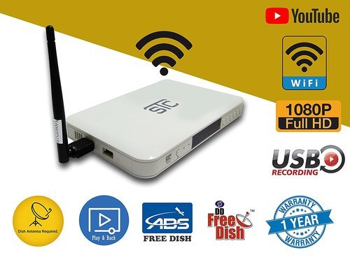 Digital Set Top Box With Wifi (white) Stc