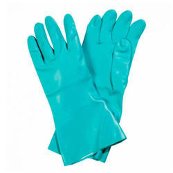 Nitrile Rubber Protective Gloves