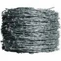 Polished Galvanized Iron Barbed Wire, For Industrial, Agriculture