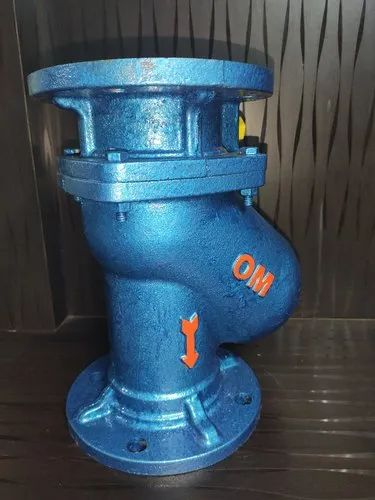 CI Flanged Ball Non Return Valve