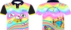 Printed Sublimation Kids School Uniform