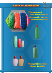 Fluorescent Color Master Batch