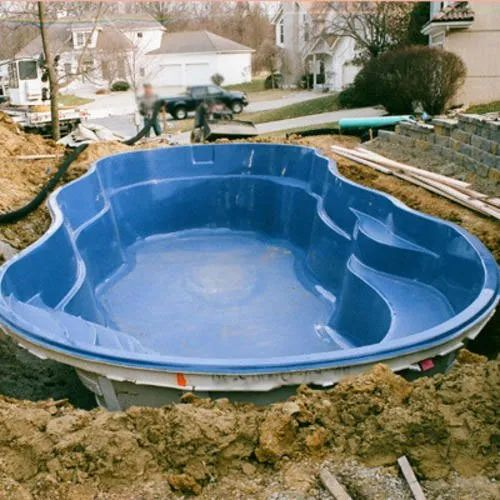 Blue Outdoor Fiberglass Swimming Pools, Rs 80000 /piece Karishma Fiber  Glass | ID: 12179905455