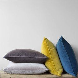 Home Decorative Rectangular Velvet Cushion