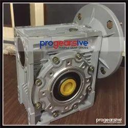 Aluminum Worm Motor Gearbox