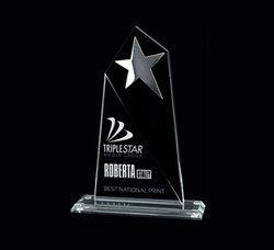 Triple Star Crystal Trophy