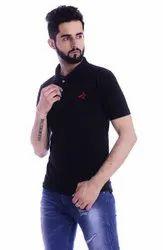 Casual Wear Men Addiz Metty Polo Neck T-Shirt, Size: M-L-XL-XXL