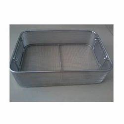 Wire Mesh Baskets Trays Trolleys