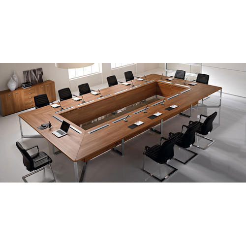 Traditional Conference Table Conference Table Praveena Office - Traditional conference table