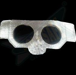 Aluminized Heat Resistance Goggles