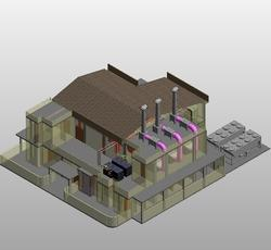 Architectural 3d Model -  Chudasama Outsourcing Pvt Ltd