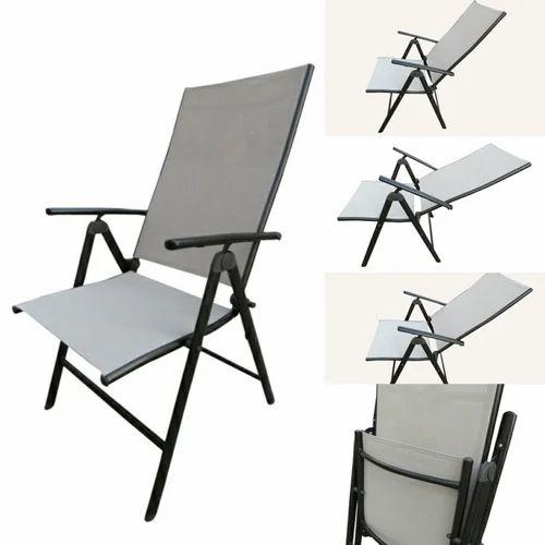 Magnificent Folding Reclining Chair 7 Stage Elegent 2 Fold Beige Creativecarmelina Interior Chair Design Creativecarmelinacom
