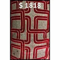 Embroidered Cotton Chenille Sofa Fabric, 150-200
