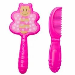 Kidofash Set of Baby Hair Comb and Hair Brush