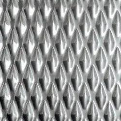 Stainless Steel Champange Linen Designer Sheet