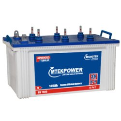 Microtek Short Tubular Battery, 12V , Warranty: 36 month