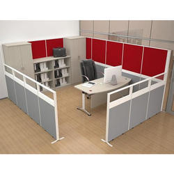Mistry Brothers Black Cubicle Office Workstation, Seating Capacity: 50