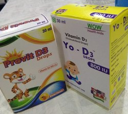Vitamin D3 drops - 800 I.U