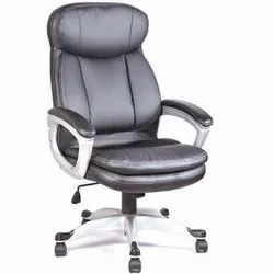 Black Leather Boss Office Chair