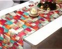 Designer Table Runner In Cotton Fabric