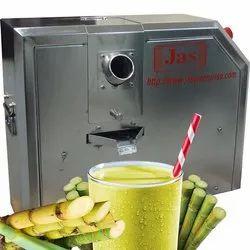 1 Hp (0.75 Kw) Commercial Sugarcane Juice Extraction Machine, Yield: 150 - 350 ml/kg, Model Name/Number: Jas-scjm-750-tt