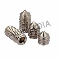 SS 316 Cone Point Grub Screws
