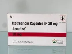 Accufine 20 Mg Softgel Capsule (Isotretinoin)