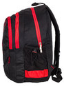 Black Light Weight Big Size School Bag