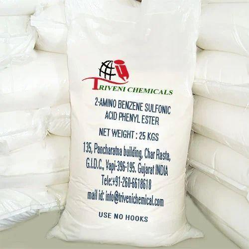 Pale Yellow/Brown Powder 2-Amino Benzene Sulfonic Acid Phenyl Ester