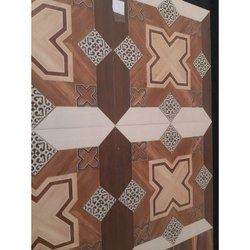 Decorative Ceramic Floor Tiles, Size/Dimension: 24 x 24 Inch, Thickness: 10 - 12 mm