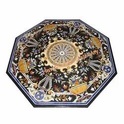 Exclusive Marble Inlay Table