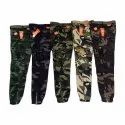 Cotton Printed Mens Army Cargo Jogger Pants