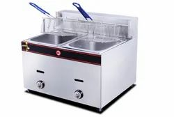 Double Electric & Gas Deep Fryer