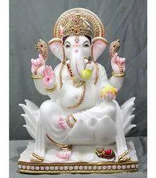 Fancy Ganesh Ji Marble Statue