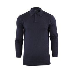 Cotton Full Sleeve Collar T Shirts