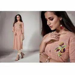 Cotton Stitched Ladies Pakistan Suits, Machine wash