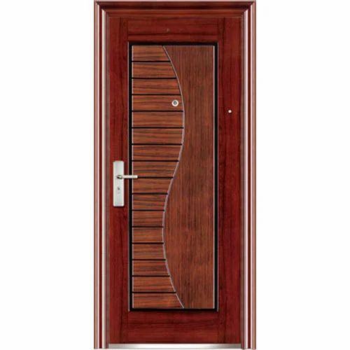 . Modern Wooden Door