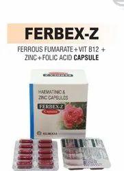 Ferrous Fumarate & Vit. B12 & Folic Acid And Zinc Capsule