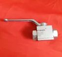 Atauff Stainless Steel 2 Way High Pressure Ball Valves