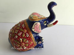 Metal Handicraft Elephant Statues