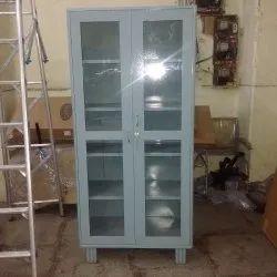 Regal Double Door Steel Glass Door Cupboard