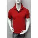 Collar Cotton T Shirt