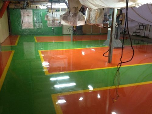 Rotex Technical Grade Transparent Epoxy Floor Paint