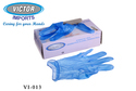 Vinyl Powder Free Examination Hand Gloves Clear