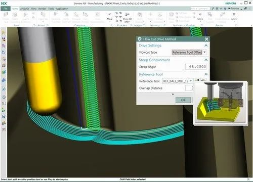 Siemens NX CAM for Manufacturing