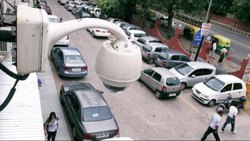 20 White CCTC Camera Installation Work, New Delhi, in Residential