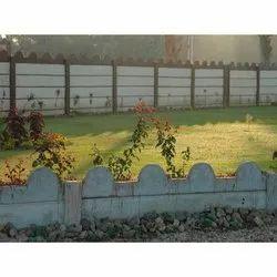 Concrete Garden Curbing